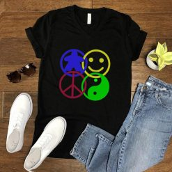 Board Game Meeple Yin Yang Peace Smile Happy T Shirt