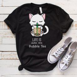 Bubble Tea cute cat shirt