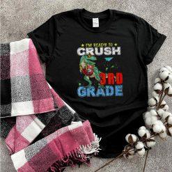 Crush 3rd Grade T Rex Dinosaur Back to School Boys shirt
