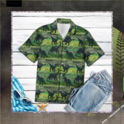 Dinosaur Rawr Hawaiian Shirt Short