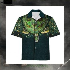 Green Sea Turtle Hawaiian Shirt