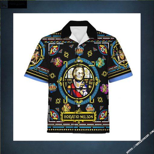 Hawaiian Shirt Horatio Nelson 1st Viscount Nelson