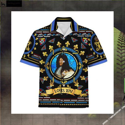 Hawaiian Shirt Louis XIV of France