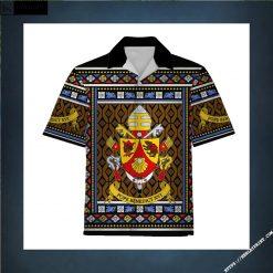 Hawaiian Shirt Pope Benedict XVI Coat Of Arms