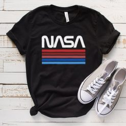 NASA Worm Logo Vintage T Shirt