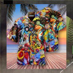 Native American Pow Wow Dancing Edition - Hawaiian Shirt