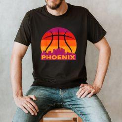 Phoenix Basketball B Ball City Arizona State Retro Vintage T Shirt