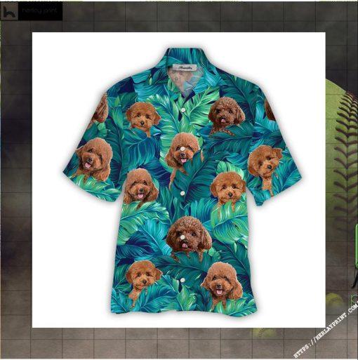 Poodle Hawaiian Shirt 2