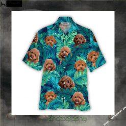 Poodle Hawaiian Shirt