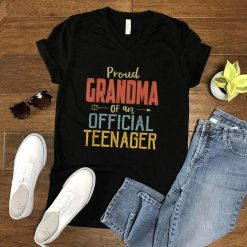 Proud Grandma Of Official Teenager 13Th Birthday 13 Yrs Old T Shirt