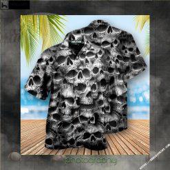 Skull No Fear No Pain Edition - Hawaiian Shirt