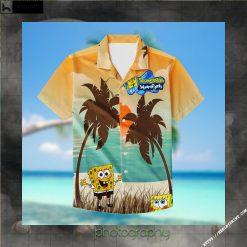 SpongeBob SquarePants Hawaiian Aloha shirt