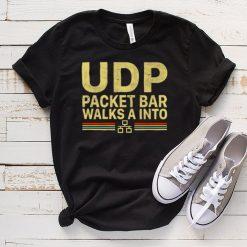 UDP Packet Bar Walk A Into Vintage T Shirt