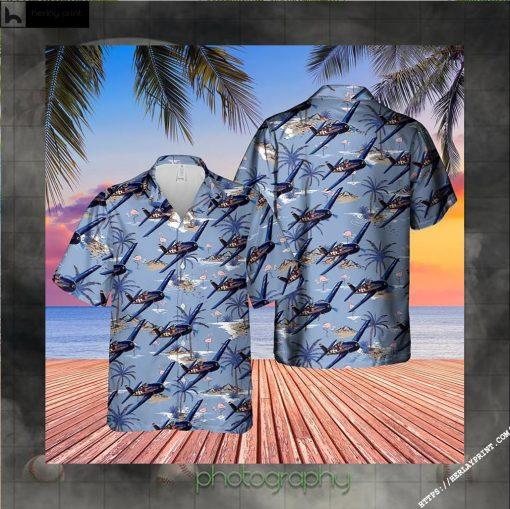 US Navy Grumman Hellcat Hawaiian Shirt 2