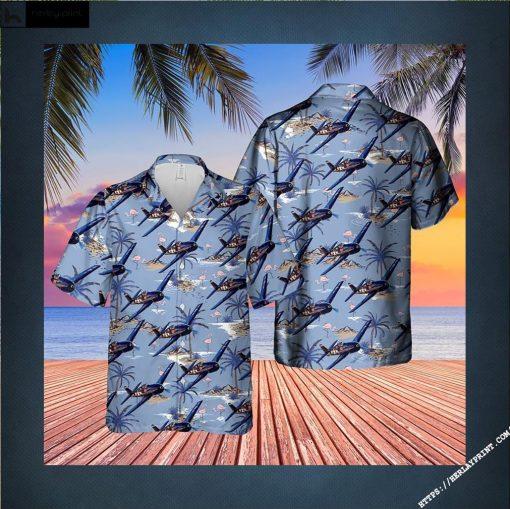 US Navy Grumman Hellcat Hawaiian Shirt