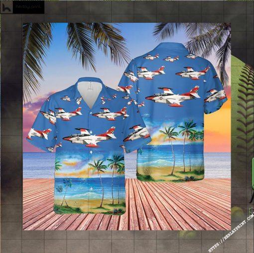US Navy North American T 2C Buckeye Hawaiian Shirt LIMITED EDITION 2