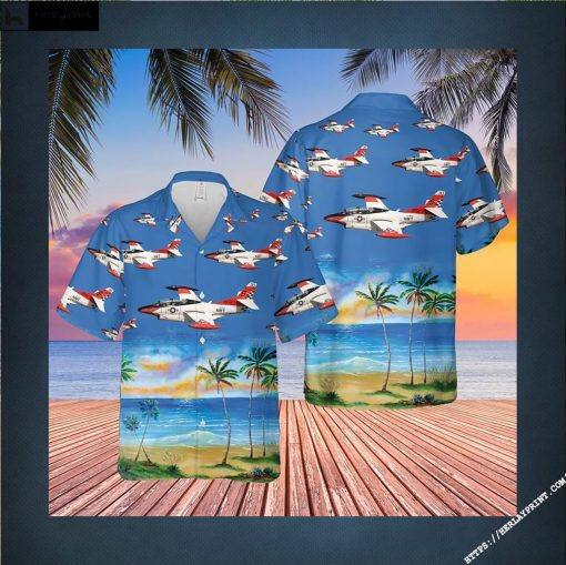 US Navy North American T 2C Buckeye Hawaiian Shirt LIMITED EDITIONs