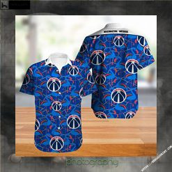 Washington Wizards NBA Hawaiian Shirt