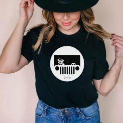 Bulldog Jeep funny T Shirt