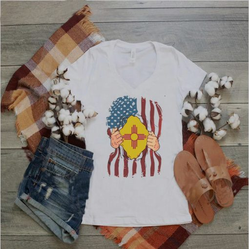 New Mexico Flag Inside Me Home State Pride American Shirt