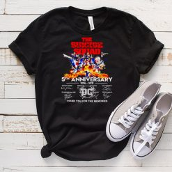 The Suicide Squad 5th Anniversary 2016 2021 thank you for the memories shirt