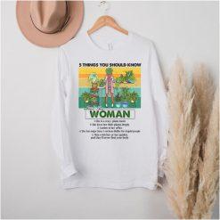 5 Things You Should Know Plant Mom Funny Plant Mom T Shirt B09GFVYC64