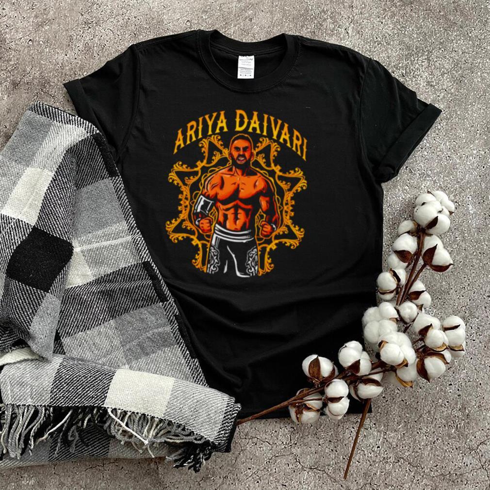 Ariya Daivari comic shirt