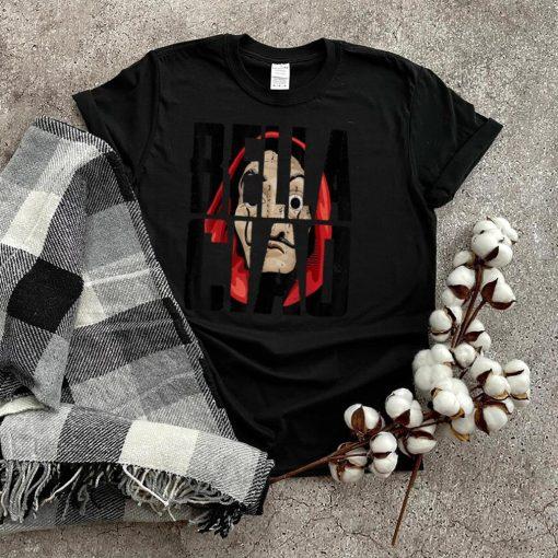 Bella Ciao Funny bank robbery money Halloween heists T Shirt