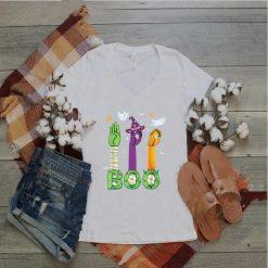 Boo American Sign Language ASL Deaf Halloween Costume T Shirt