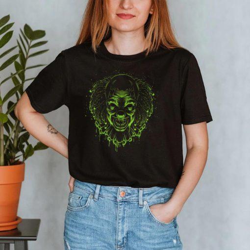 Clown head, grim reaper, man or woman, halloween T Shirt