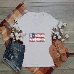 Defund Politicians Usa flag vintage 2021 T Shirt