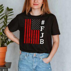 FJB US Distressed Flag F Biden Pro America flag shirt
