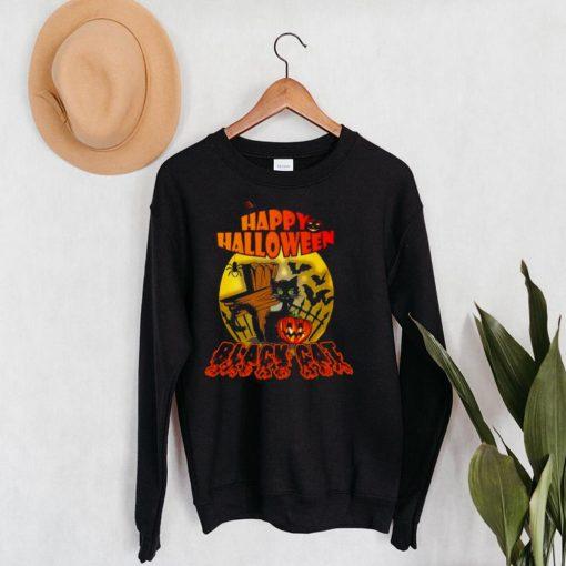 Happy Halloween Black Cat 2021 T shirt