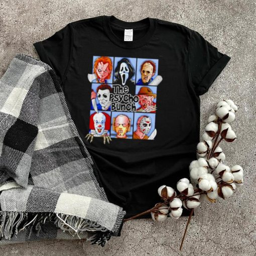 Horror Halloween the psycho bunch shirt