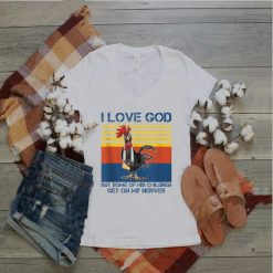 I love God but some of his children get on my nerves Tank Top
