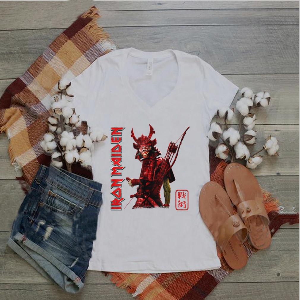 Iron Maiden   Senjutsu Samurai T Shirt