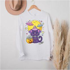 Kawaii Pastel Goth Cat Halloween Cute T Shirt
