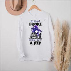 My Broom Broke So Now I Drive A J.e.e.p Halloween Costume T Shirt