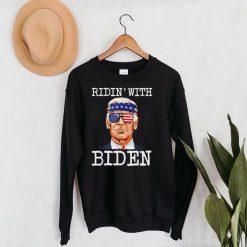 Ridin With Biden Vote Pro Joe Biden For President 2020 T Shirt