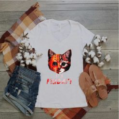 Scary Halloween Costume It Friday 13th Horror Movies Cat T Shirt