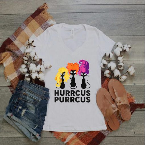There Cats Hurrcus Purrcus Halloween Costume T Shirt
