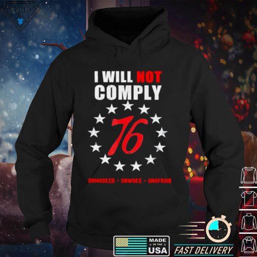 2021 Defiant Patriot Conservative Medical Freedom Shirt