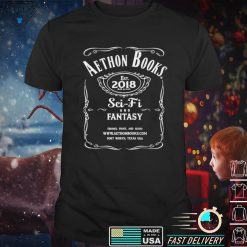Aethon Books est 2018 brand Sci Fi and Fantasy shirt