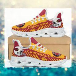 Arizona Cardinals American NFL Football Team Helmet Logo Custom Name Personalized Men And Women Max Soul Sneakers Shoes For Fan