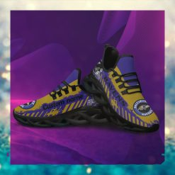 Baltimore Ravens American NFL Football Team Helmet Logo Custom Name Personalized Men And Women Max Soul Sneakers Shoes For Fans Copy
