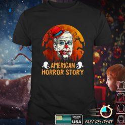 Biden Horror American Zombie Story Halloween Retro Vintage T Shirt 2