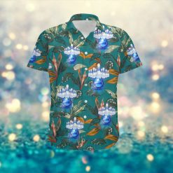 Bowling Sporty Women Hawaiian Aloha Tropical Floral Custom Name Shirt For Bowlers On Summer Vacation