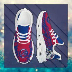 Buffalo Bills American NFL Football Team Helmet Logo Custom Name Personalized Men And Women Max Soul Sneakers Shoes For Fan