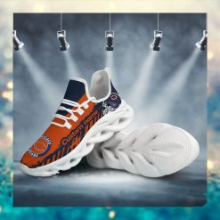 Chicago Bears American NFL Football Team Helmet Logo Custom Name Personalized Men And Women Max Soul Sneakers Shoes For Fan