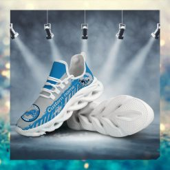Detroit Lions American NFL Football Team Helmet Logo Custom Name Personalized Men And Women Max Soul Sneakers Shoes For Fan